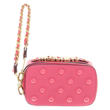 Moschino Shoulder bag made of leather