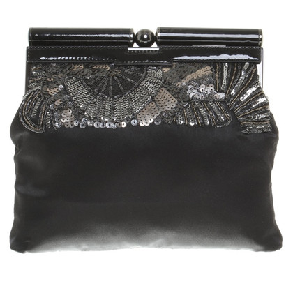Karen Millen clutch in black