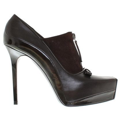 Balenciaga pumps in marrone scuro