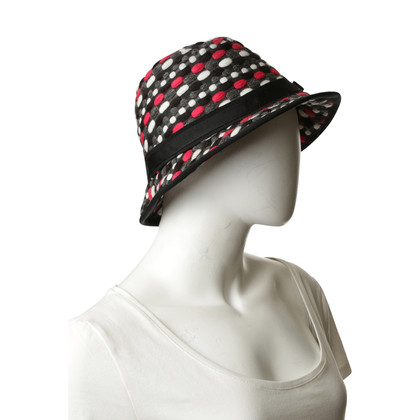 Escada Cappello di lana multicolore