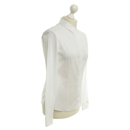 Hugo Boss Classic blouse in white
