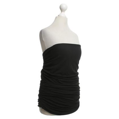 Van Laack Bandeau-top in black