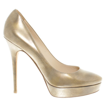 Jimmy Choo Color oro pumps