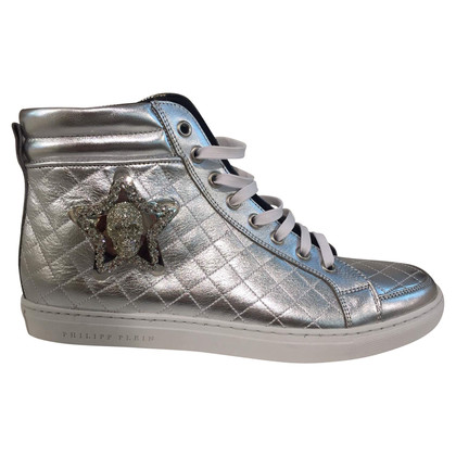 Philipp Plein Zilveren sneakers