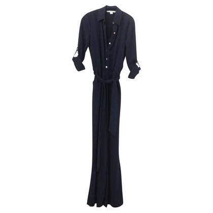 Diane von Furstenberg Marineblauwe jumpsuit