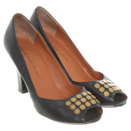 Marc Jacobs Peeptoes met studs trim