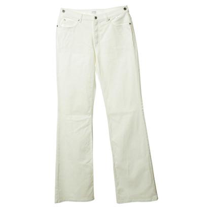 Escada Pantaloni jeans bianchi