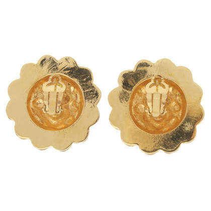 Chanel Oorbellen met parels