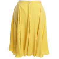 Closed Uitlopende rok in het geel