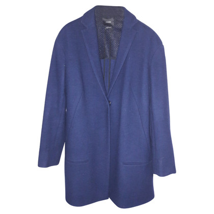 Odeeh Cashmere wool coat in navy