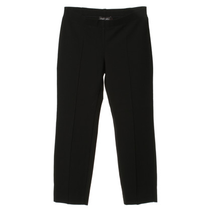 Marc Cain Jersey trousers in black