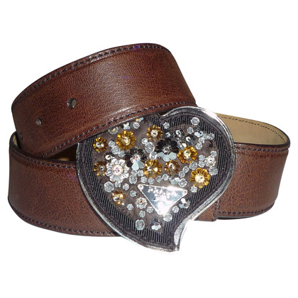 Prada Belt with rhinestones