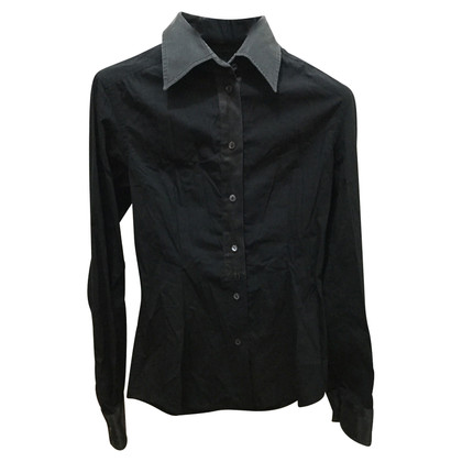 Dolce & Gabbana Black silk blouse