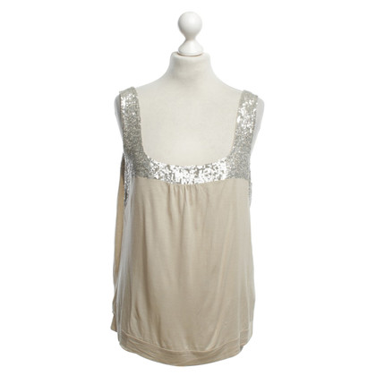 René Lezard Top in Beige