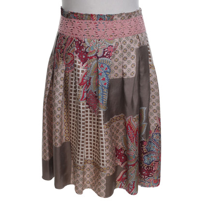 Hartford Silk patchwork rok