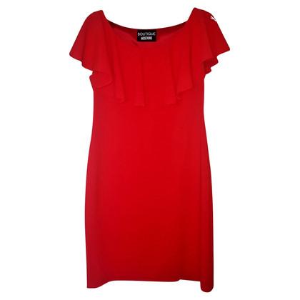 Moschino robe rouge