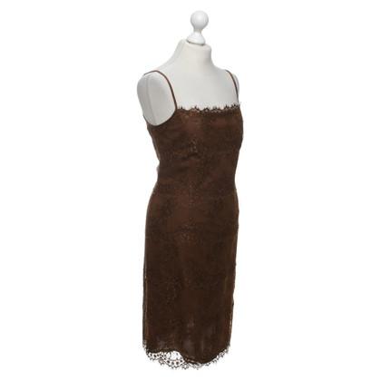 Rena Lange Lace dress in brown