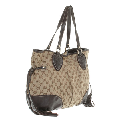Gucci Shopper aus Canvas
