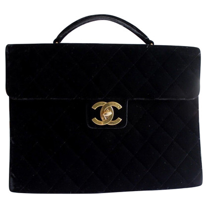 Chanel Bag of velvet