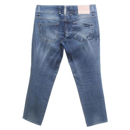 John Galliano Jeans en bleu clair
