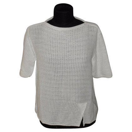 Marc Cain Strick-Shirt in Weiß