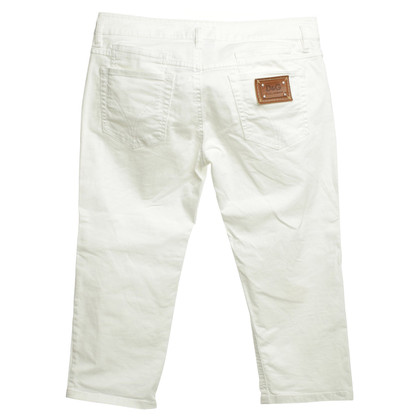D&G Jeans in bianco