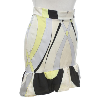 Emilio Pucci skirt with pattern print