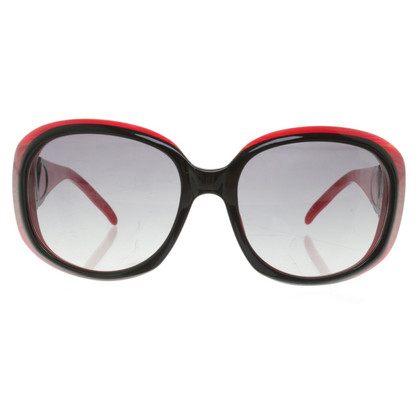 Valentino Sunglasses in red / black