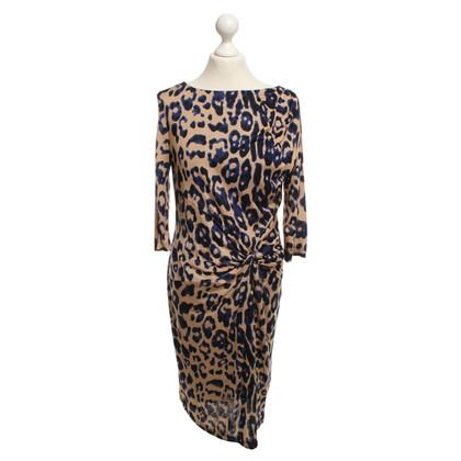 Laurèl Dress with animal print