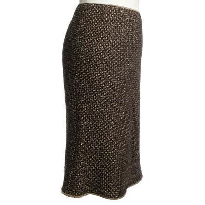 Prada skirt in brown
