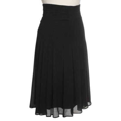 La Perla Pleated skirt made of silk