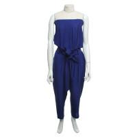 Costume National Jumpsuit in Blau