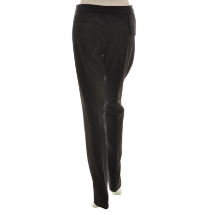 By Malene Birger trousers with shiny inserts