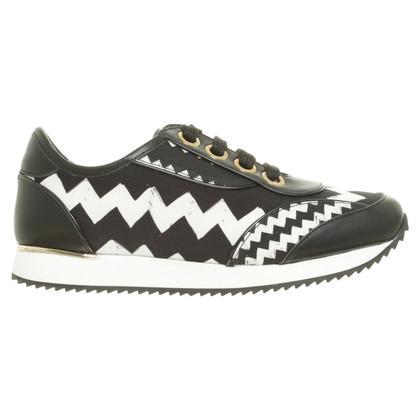 Paule Ka Sneaker with zig zag pattern