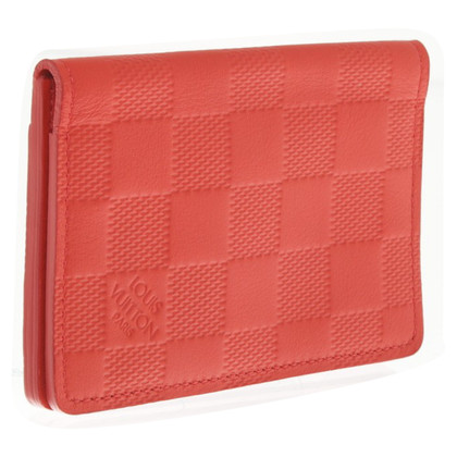 Louis Vuitton Card Case in rosso
