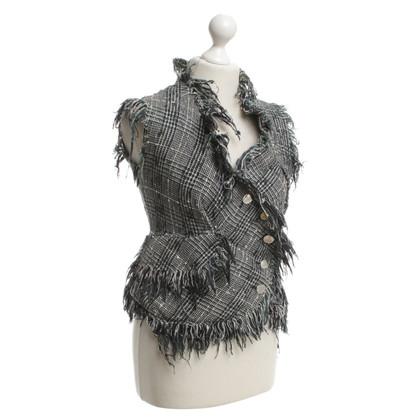 Vivienne Westwood Multi-colored tweed vest