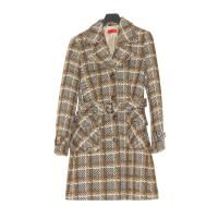 Hugo Boss Plaid wool coat