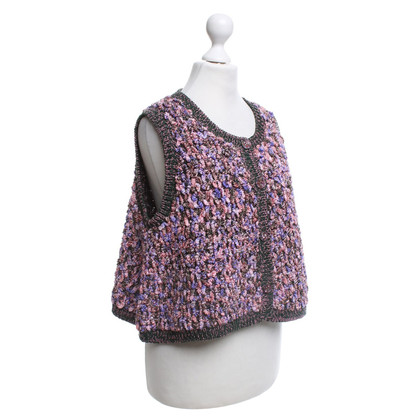Chanel Bouclé vest in Bunt