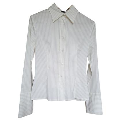 Patrizia Pepe camicetta bianca con strisce nere