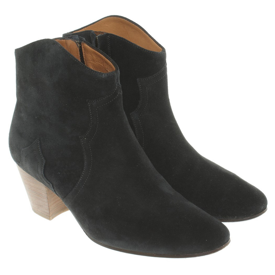 Ankle Boots Isabel Marant Isabel marant ankle boots in black buy second hand isabel marant isabel marant ankle boots in black sisterspd