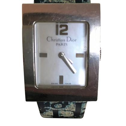 Christian Dior Wristwatch in silver