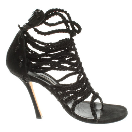 Manolo Blahnik Strap sandals from suede