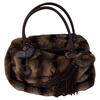 Philosophy di Alberta Ferretti faux fur bag