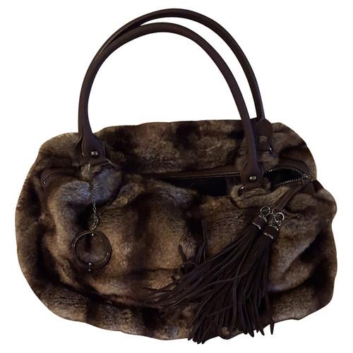Philosophy Di Alberta Ferretti Faux Fur Bag