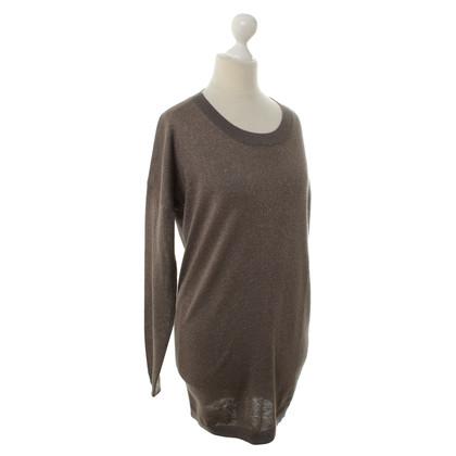 FTC Fine knit sweater with fancy yarn