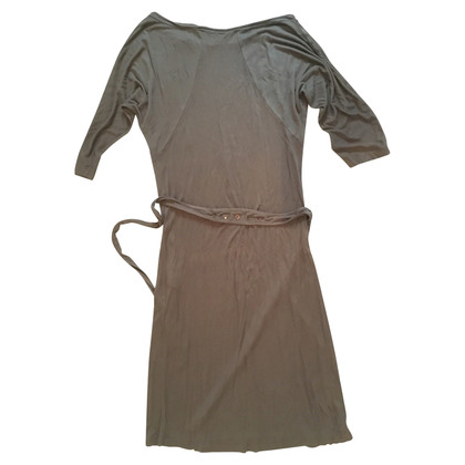 Turnover Brown dress