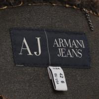 Armani Jeans Giacca realizzata in ecopelle / eco-pelliccia