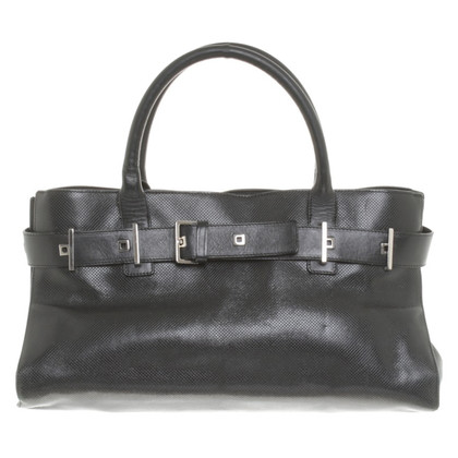 Bottega Veneta Black leather handbag