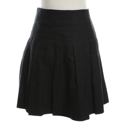 Chloé Pleated skirt in black
