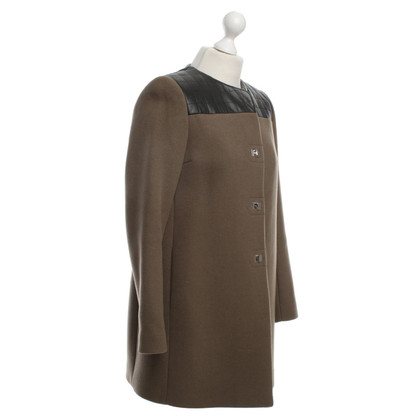 Sandro Coat in Brown